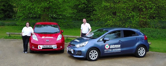 Bury St Edmunds manual and automatic driving lesson reviews of Mat and Ann Crowe