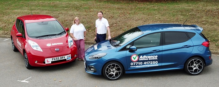 Bury St Edmunds and Sudbury manual and automatic driving lesson reviews of Mat and Ann Crowe
