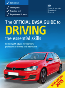 DVSA guide to driving book